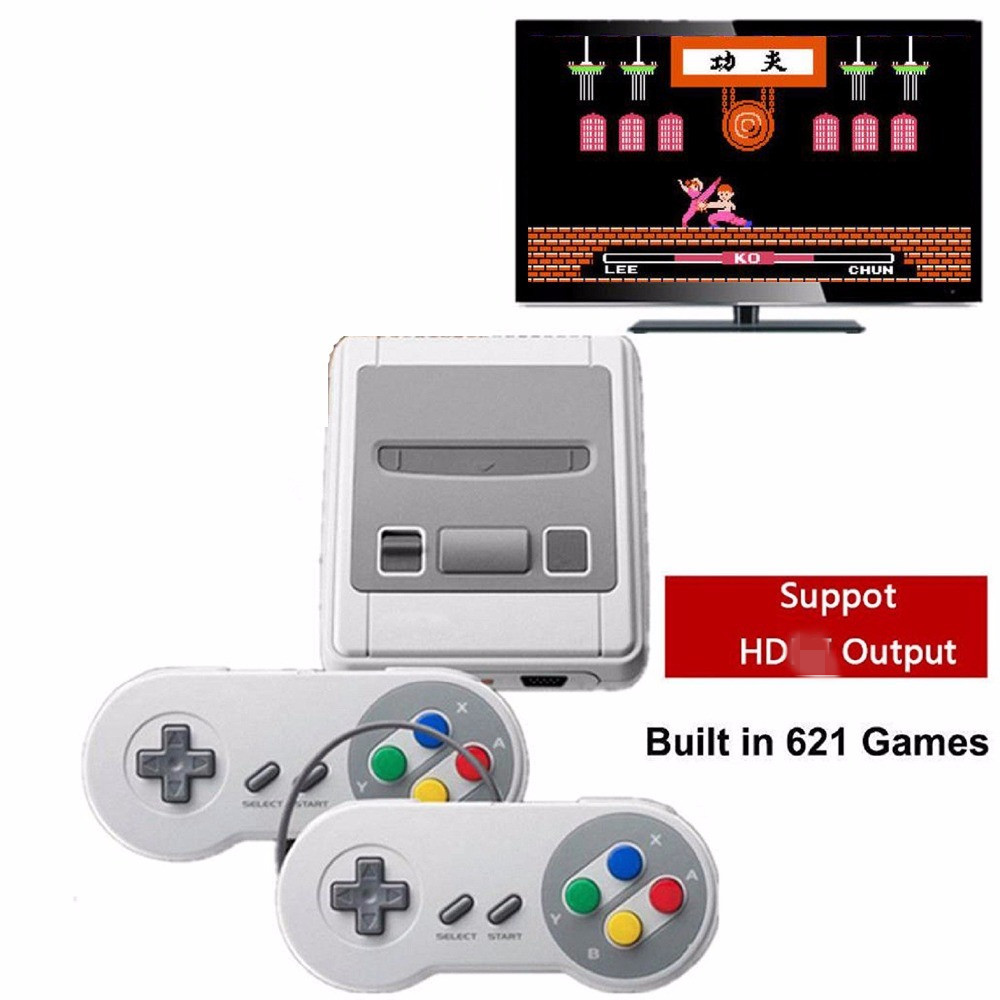 Retro Game Consoles Support HD TV Output Build in 621 Games Video Game Console For PSP