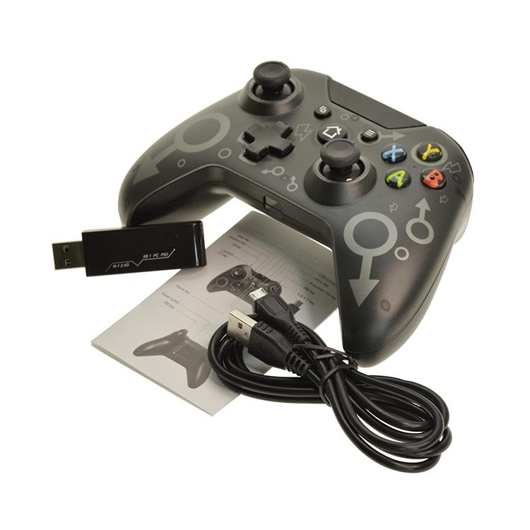 Wireless Gaming Controller Jostick Gamepad Compatible with X box one PS3 PC Laptop
