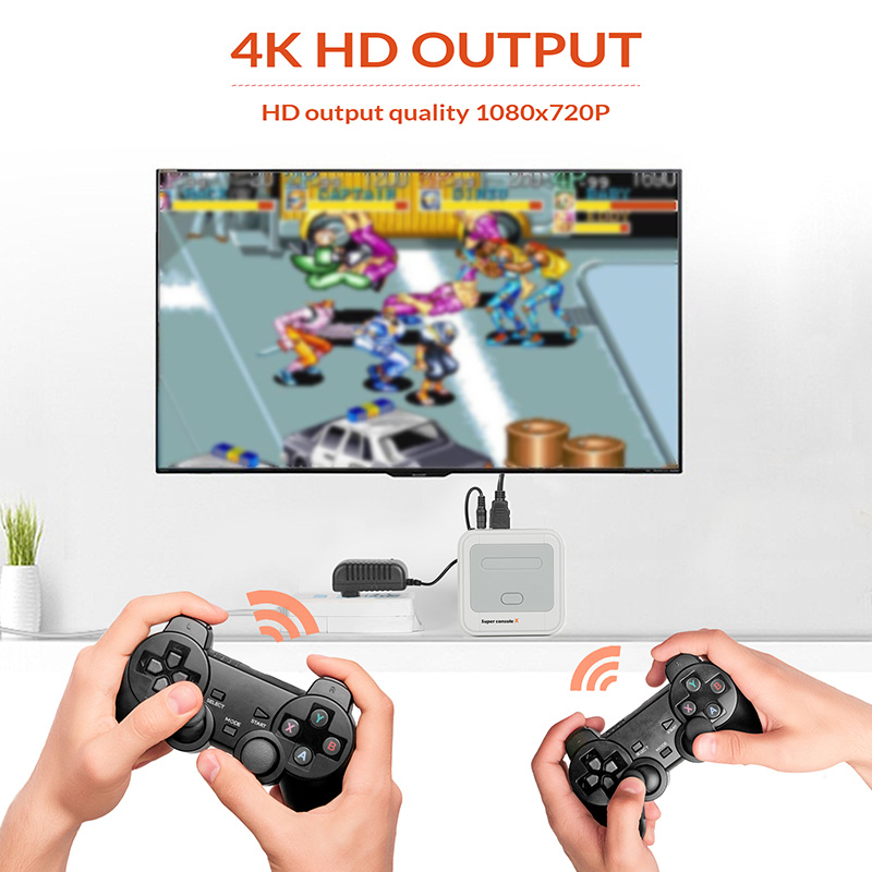 Super Console X HD Video Game Classic Retro Game Console With N64 15000+ For Psp Games