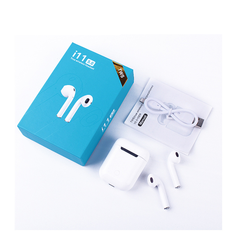 i11 TWS bluetooth wireless earphone with case