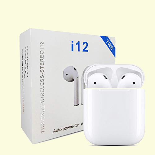 i12 True wireless stereo earphones waterproof blue tooth earbuds gaming headsets