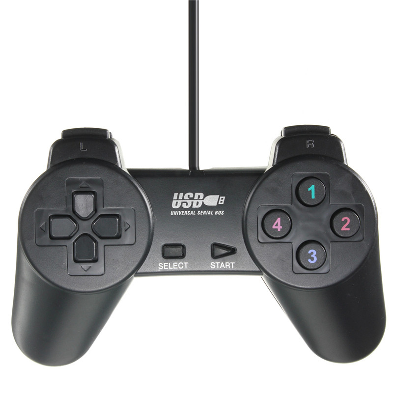 USB Gamepad, PC Joystick Game Controller; Wired Game Controller