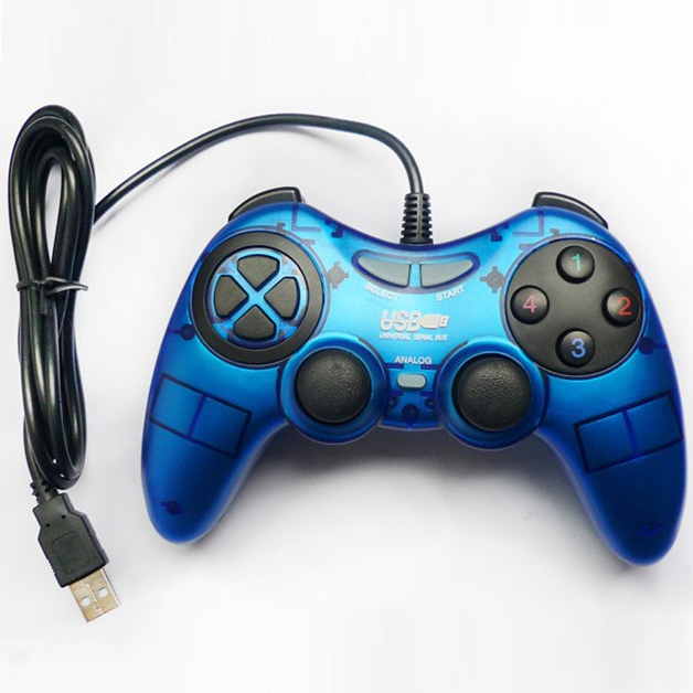 Game Controller for PC USB 2.0 Vibration Sixaxis Game Controller