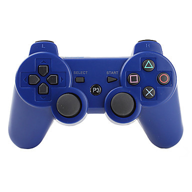 2017 Hot Selling Joystick For PS3 Game Console Wireless Game Bluetooth Controller; PC Game Gamepad Joystick Controller