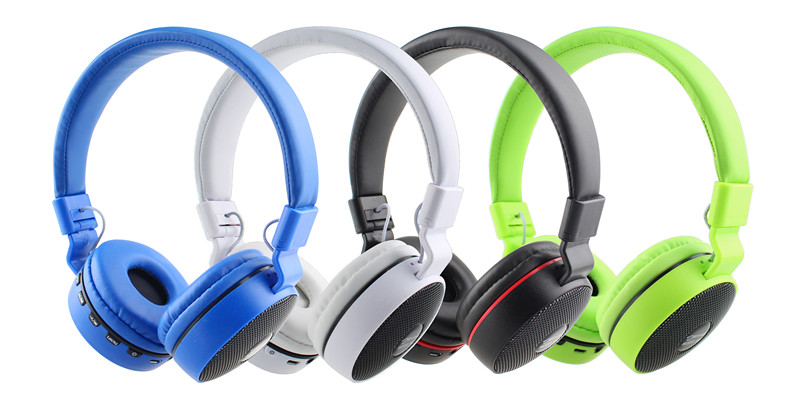 Wireless super bass stereo headphone headset wholesale