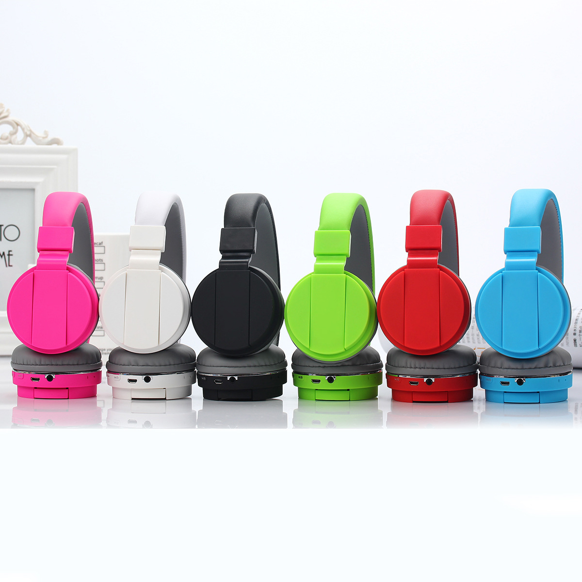 Hot sale wireless stereo headset blue tooth headphone