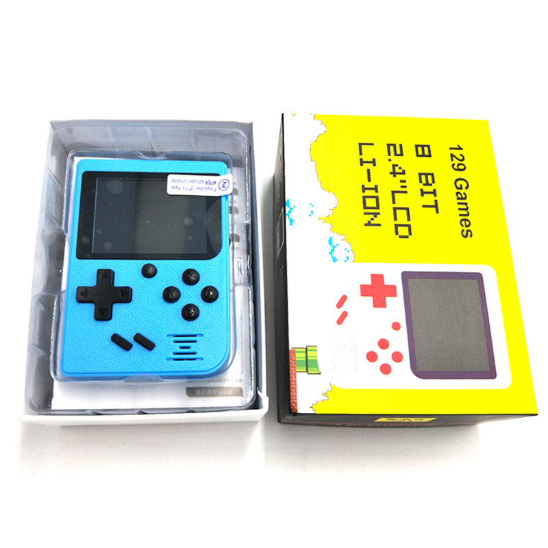 8 bit portable Handheld Game Console