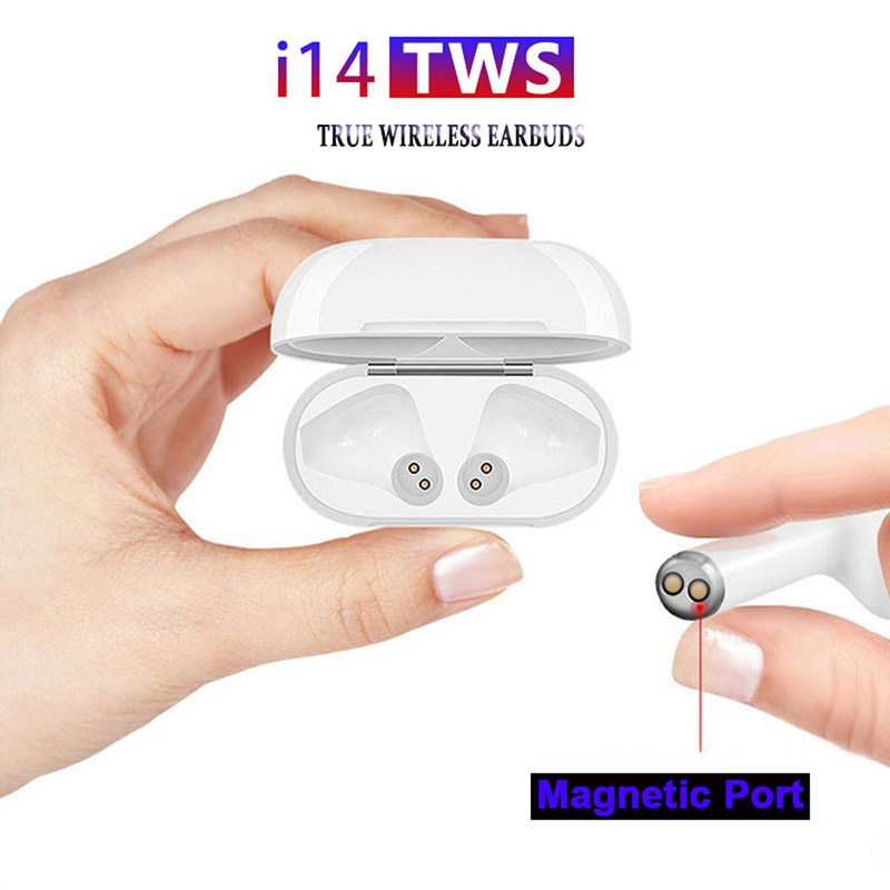 i14 TWS Bluetooth gaming wireless earphones